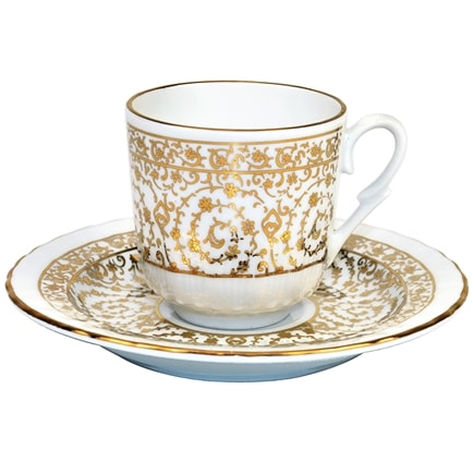 turkish coffee cups turkish coffee cup with saucer porcelain gold 29883