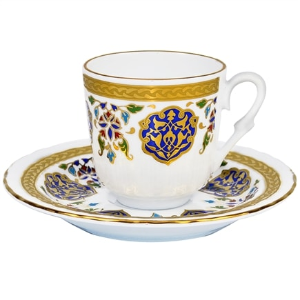 turkish coffee cups turkish coffee cup with saucer porcelain armor 29883